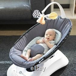 4Moms RockaRoo Infant Baby Compact Gliding Motion Swing Glider 2019 Cool Mesh