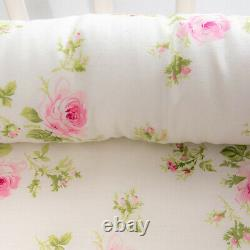Baby Bassinet Floral Baby Lounger Bed Bassinet F/ Newborn Baby Portable Crib