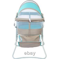 Baby Bassinet With Storage Infant Nursery Crib Basket Sleeper Bed Cradle Foldable