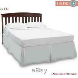 Baby Crib 4 in 1 Convertible Sold Wood Convert to Toddler BED Colors Adjustable