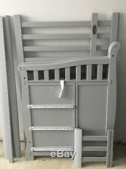 Baby Crib 5 In 1 With Changing Table And Mattress Manufactured In July 2017