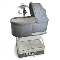 Bassinet Sweetli Deluxe in Stonewash by Baby Bliss