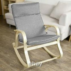 Best Rocking Chair for Nursery Comfy Moms XL Glider Wooden Kid Rustic Indoor NEW