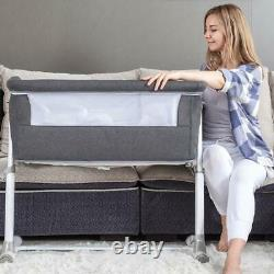 Brand New Ronbei Adjustable Baby Bassinet Bedside Sleeper Baby Bed to Bed Crib