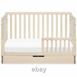 Carter's By DaVinci Colby 4-in-1 Convertible Crib with Trundle in Washed Natural