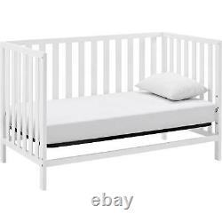 Child Baby Nursery Crib Convertible Toddler 4 in 1 Convertible Baby Bed Bedroom