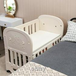 Child Baby Nursery Crib Convertible Toddler Bed Daybed Multiple Color w Mattress