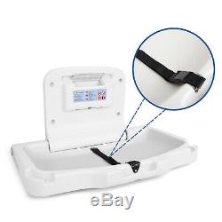 Commercial Baby Diaper Changing Table Station Horizontal Wall Mounted Fold Down