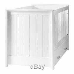 DaVinci Asher 3-in-1 Convertible Crib with Toddler Bed Conversion Kit White