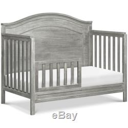 DaVinci Charlie 4 in 1 Convertible Crib in Cottage Gray