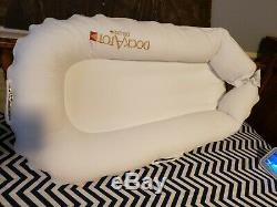 Doc-A-Tot Deluxe Plus Dock Co Sleeper White Original Packaging Baby 0-8 Bed