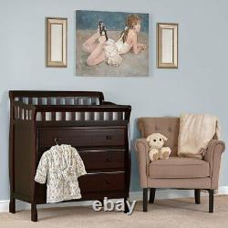 Dream On Me Marcus Changing Table and Dresser in Espresso