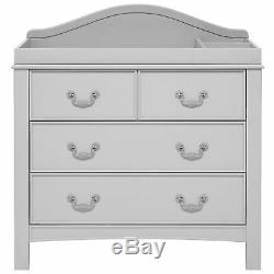East Coast Nursery Furniture Toulouse Chest Of 3 Drawers Dresser In French Grey