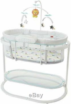 Fisher-Price Soothing Motions Bassinet, Windmill Baby Rocker Music Sounds Mobile