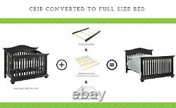 Full Size Conversion Kit Bed Rails for Baby Cache Convertible Cribs