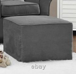 Gray Rocker Chairs &/or Ottoman Rocking Chair Nursery Furniture Baby Kids Relax