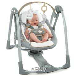 Ingenuity Swing Go Portable Baby/Newborn/Infant Seat/Rocker/Rocking Chair Seat