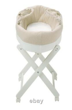 Moses Basket with stand (Free Delivery Domestically)