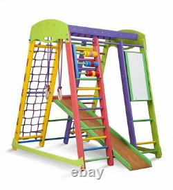 Play Sport Home Kids Gym Ladder Toys Wall Playground Game Baby Gymnastic Slide