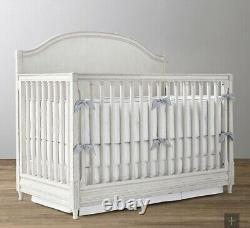 Restoration Hardware Bellina Arched Conversion Crib with Mattress Included