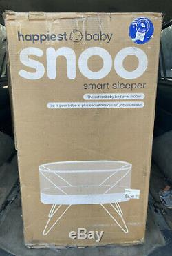 SNOO Smart Sleeper Bassinet by Happiest Baby with. Original Box, Fair Condition