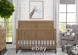 Simmons Kids' Foundry 6-in-1 Convertible Baby Crib