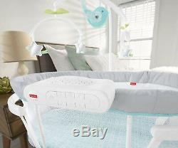 Soothing Motions Bassinet Baby Calming Sway Soothing Music & Sounds Sleeping Cot