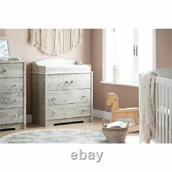 South Shore Aviron 3 Drawer Baby Changing Table in Seaside Pine