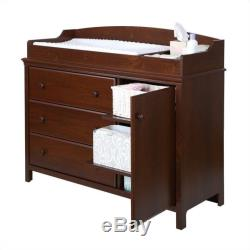 South Shore Cotton Candy Changing Table with Removable Station in Sumptuous C