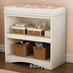 South Shore Peek-a-boo Changing Table in Pure White